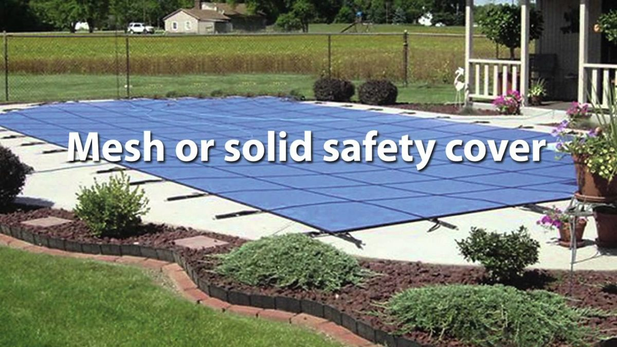 A Guide to Swimming Pool Safety: In-Ground Pool Covers