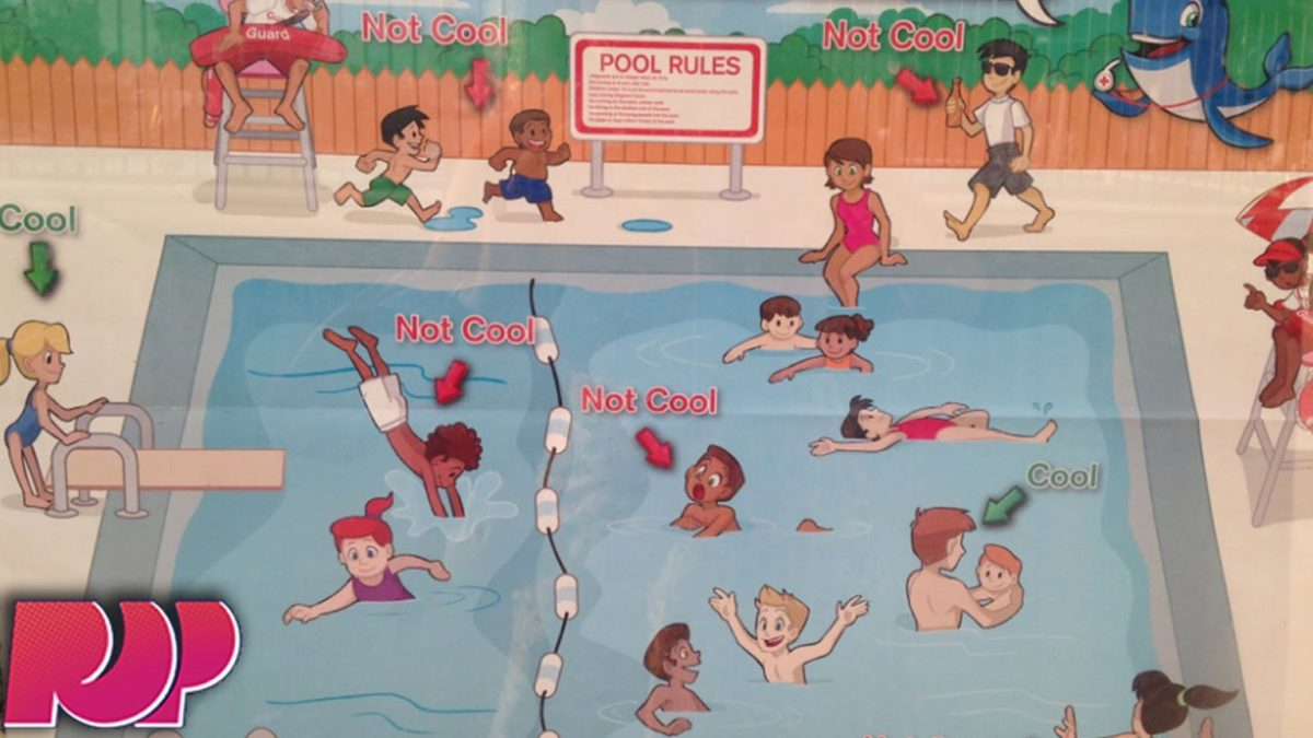 Is This Red Cross Pool Safety Poster Racist?