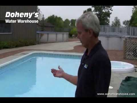 How to Install a Winter Swimming Pool Safety Cover