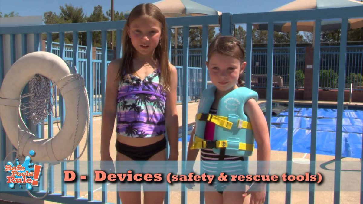 Swimming Pool Safety: Safe Pools Rule! PSA 2015