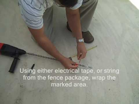 How to Drill Holes for Your Sentry Safety Pool Fence