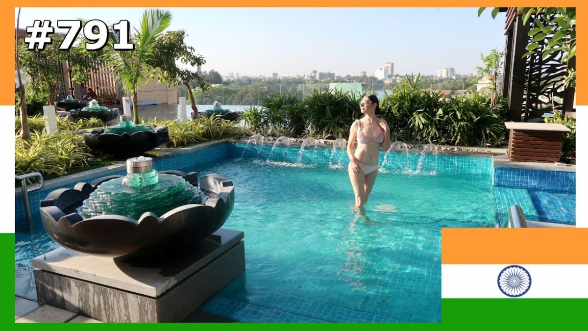 BENGALURU SWIMMING POOL DAY AT CONRAD HOTEL INDIA DAY 791 | TRAVEL VLOG IV